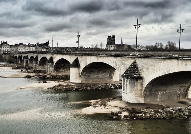 De Orléans à Meung sur Loire