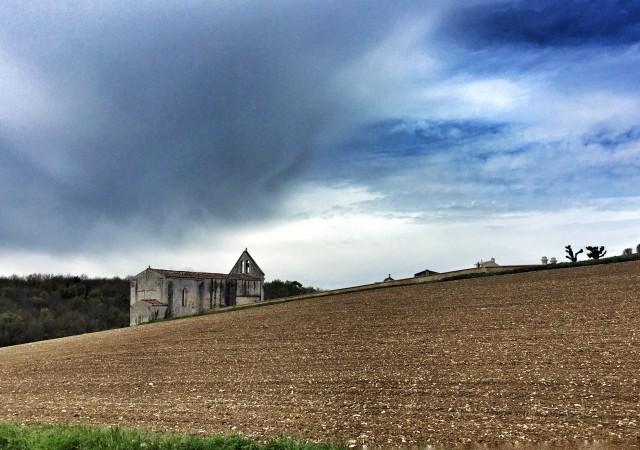 De St Jean-d'Angely à Saintes